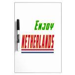 Refresque los diseños para Países Bajos Tablero Blanco