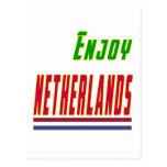 Refresque los diseños para Países Bajos Postal