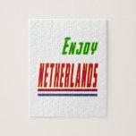 Refresque los diseños para Países Bajos Rompecabezas