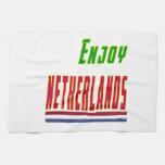 Refresque los diseños para Países Bajos Toalla