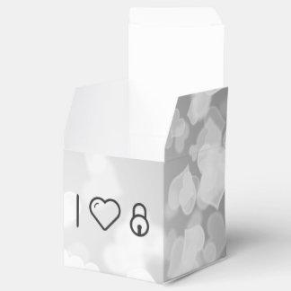 Refresque los objetos Padlocked Caja Para Regalo De Boda