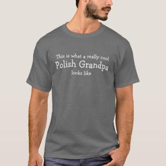 Refresque realmente al abuelo polaco playera