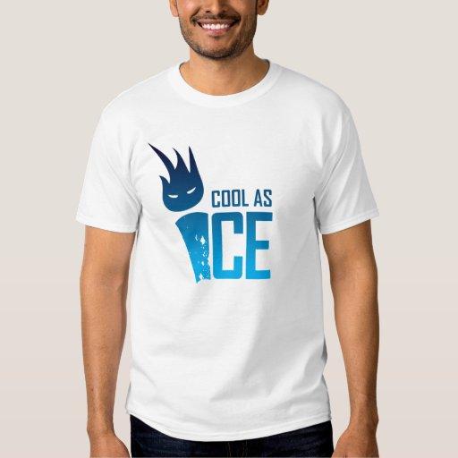 Refresqúese como camiseta del hielo playeras