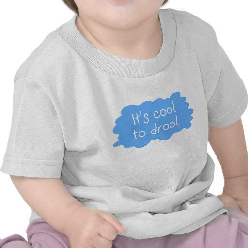 Refresqúese para drool muchacho camiseta