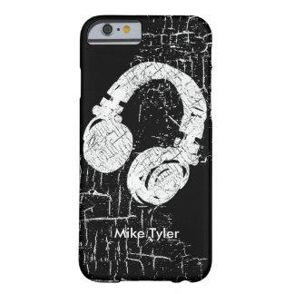refresqúese para el disc jockey - un auricular de funda barely there iPhone 6