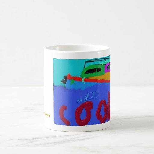 """""""Refresqúese"""" por Cameron Madsen Tazas De Café"""