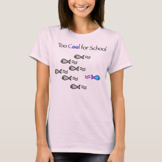 Refresqúese también para la escuela - camisa de