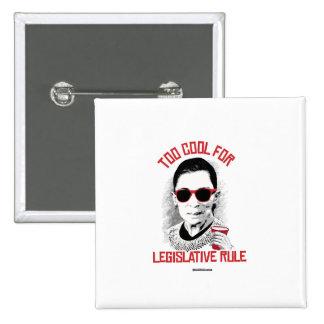 Refresqúese también para la regla legislativa pin cuadrada 5 cm