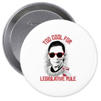Refresqúese también para la regla legislativa pin redondo 10 cm