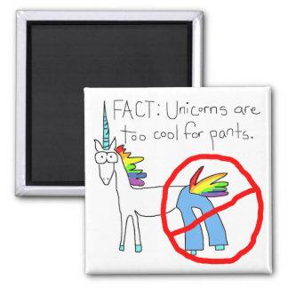 Refresqúese también para los pantalones iman de frigorífico