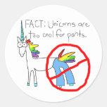 Refresqúese también para los pantalones etiquetas