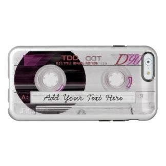 Refresqúese y diversión - cinta de casete vieja funda para iPhone 6 plus incipio feather shine