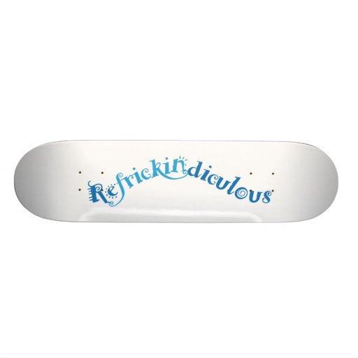 Refrickidiculous board skateboard decks