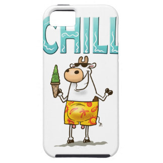 Refrigeración de la vaca iPhone 5 carcasa