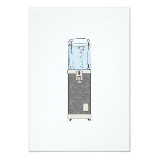 """Refrigerador de agua invitación 3.5"""" x 5"""""""