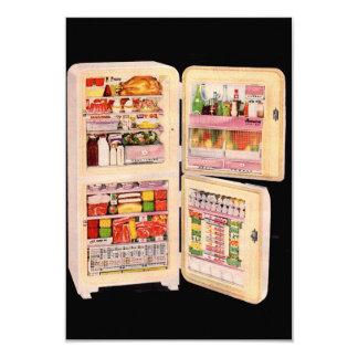 """refrigerador de la abundancia invitación 3.5"""" x 5"""""""