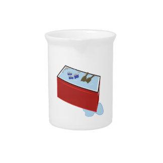 Refrigerador de la bebida jarras de beber