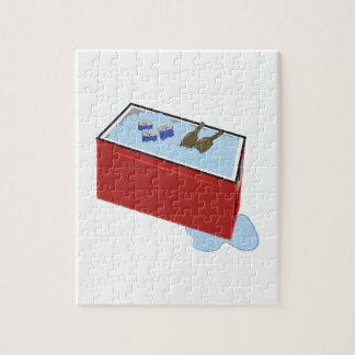 Refrigerador de la bebida puzzles
