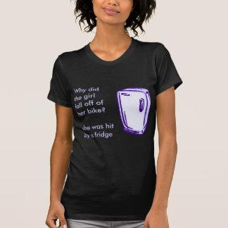 refrigerador de la bici camisetas