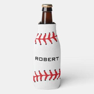 Refrigerador de la botella del diseño del béisbol enfriador de botellas