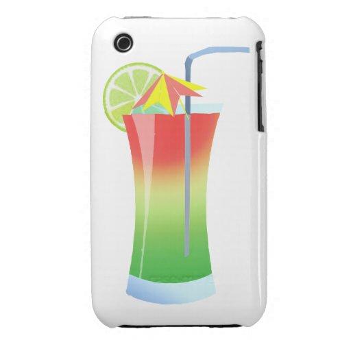 Refrigerador de la cal de la fresa Case-Mate iPhone 3 carcasas