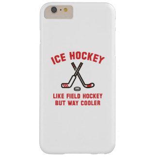 Refrigerador de la manera del hockey sobre hielo funda de iPhone 6 plus barely there