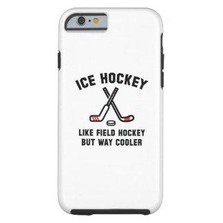 Refrigerador de la manera del hockey sobre hielo funda de iPhone 6 tough