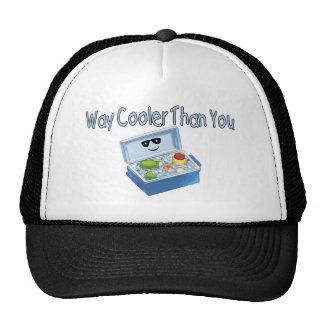 Refrigerador de la manera que usted gorros bordados