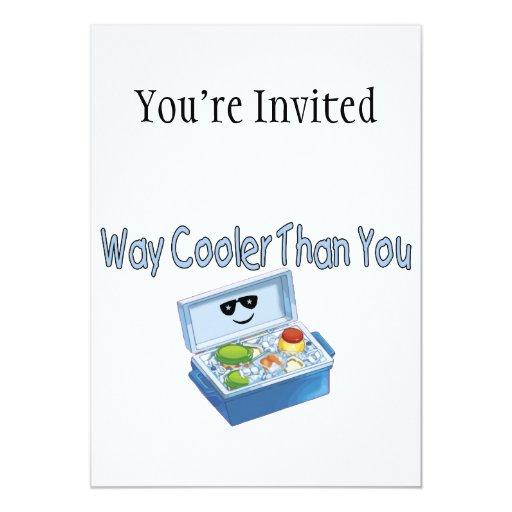 """Refrigerador de la manera que usted invitación 5"""" x 7"""""""