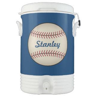 Refrigerador del béisbol enfriador de bebida igloo
