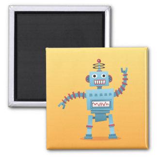 Refrigerador del dibujo animado del robot o imán r