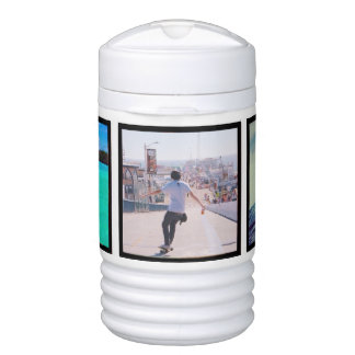 refrigerador del iglú de la foto del instagram refrigerador de bebida igloo