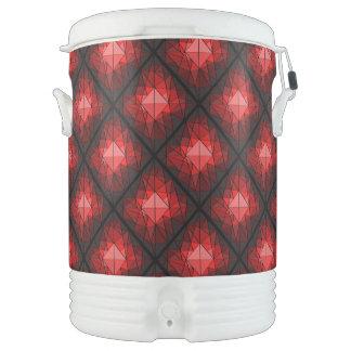Refrigerador del iglú de la piedra preciosa refrigerador de bebida igloo