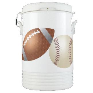 Refrigerador del iglú de las bolas de los deportes