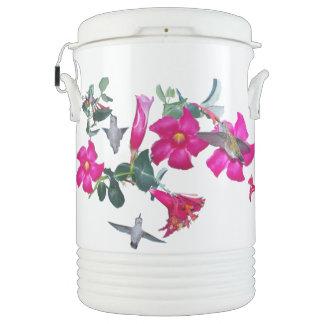 Refrigerador del iglú de los colibríes y de las vaso enfriador igloo