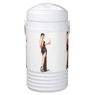 Refrigerador del iglú del chica del encanto del FF Vaso Enfriador Igloo