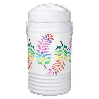 Refrigerador del iglú del diseño de la hoja del vaso enfriador igloo