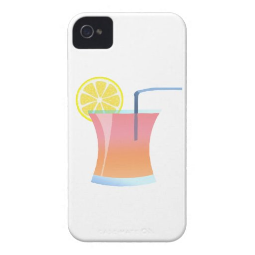Refrigerador del limón de la salida del sol Case-Mate iPhone 4 coberturas