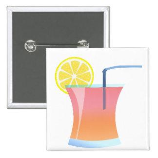 Refrigerador del limón de la salida del sol pins