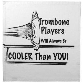 Refrigerador del músico del Trombone que usted Servilletas