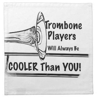 Refrigerador del músico del Trombone que usted Servilleta De Papel