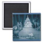 Refrigerador lindo de los regalos de Navidad Iman De Nevera
