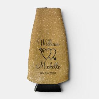 Refrigerador personalizado de la botella del boda enfriador de botellas