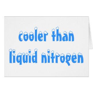 Refrigerador que tarjeta del nitrógeno líquido