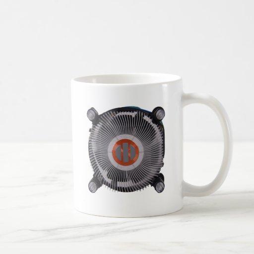 refrigerador tazas de café