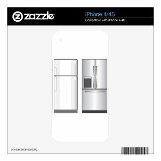Refrigeradores iPhone 4S Calcomanías