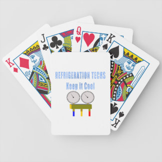 Refrigeration Techs Keep it Cool.png Bicycle Playing Cards