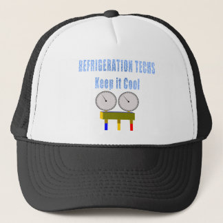 Refrigeration Techs Keep it Cool.png Trucker Hat
