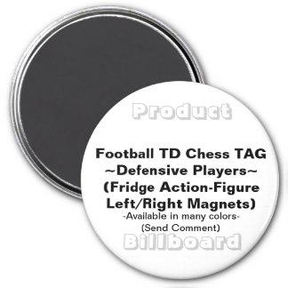 REFRIGERATOR FOOTBALL CHESS MAGNET GAMES