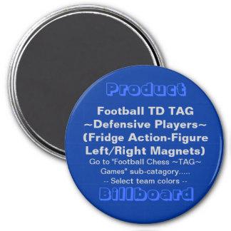 REFRIGERATOR FOOTBALL TD MAGNET GAME